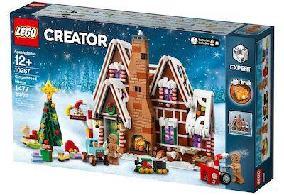 lego lebkuchenhaus weihnachtlichen lego sets