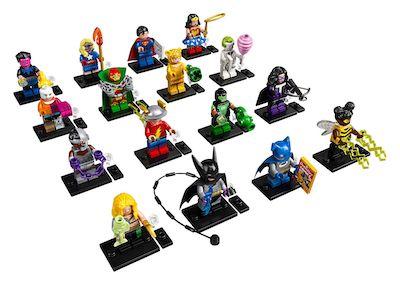 lego minifiguren dc ganze serie
