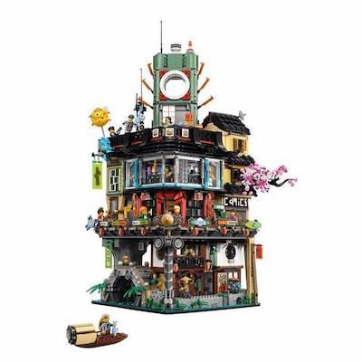 top 10 lego sets ninjago city