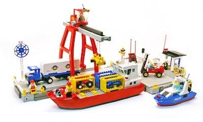 top 10 lego sets hafen