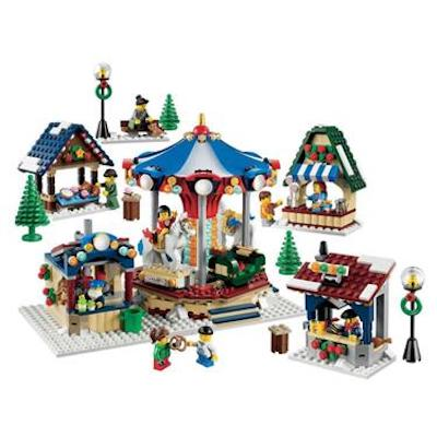 top 10 lego sets winter karusell