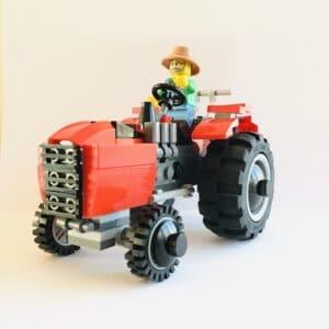 lego traktor vorne gallusbrick