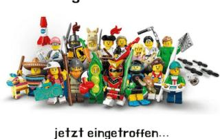 lego minifiguren serie 20 neu eingetroffen
