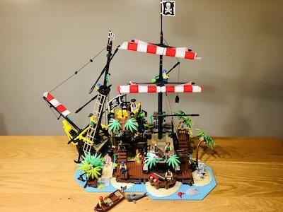 lego 21322 Piraten der Barracuda-Bucht quer
