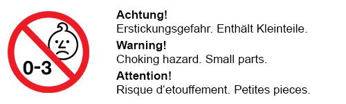 3+ warnung