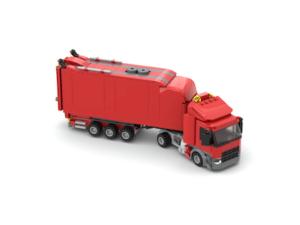 truck gallusbrick laden
