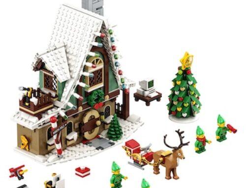 Elfen Klubhaus 10275 – Das neue Weihnachtliche LEGOSet
