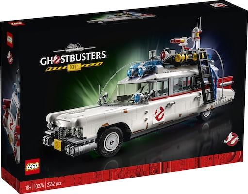 LEGO GHOSTBUSTERS ECTO-1 box front