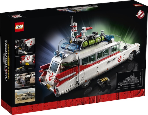 LEGO GHOSTBUSTERS ECTO-1 box back