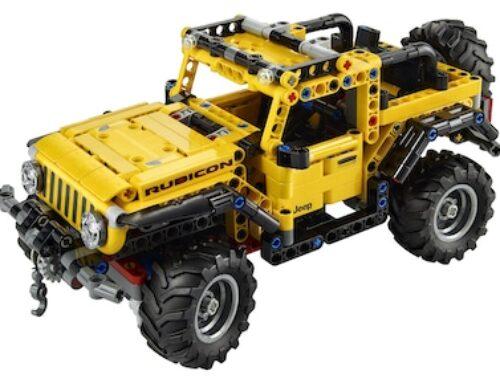 Jeep Wrangler aus LEGO | Neu ab Januar 2021