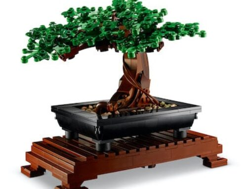 Blumenstrauss und Bonsai aus LEGO ® Botanical Collection
