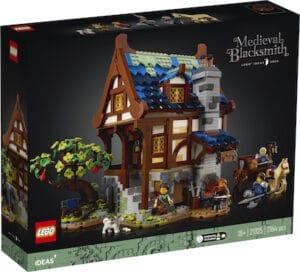 IDEAS Mittelalterliche Schmiede 21325 box front