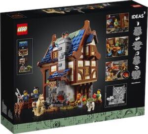 IDEAS Mittelalterliche Schmiede 21325 box backside