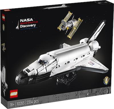 space shuttle 10283 box vorne