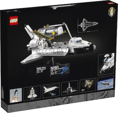 space shuttle 10283 box hinten